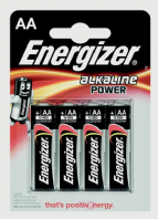 Eveready Energizer Alkaline Power AA E91 - Pack 4